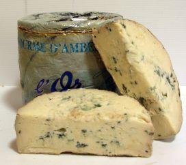 fourme d ambert cheese french cow s milk blue cheese