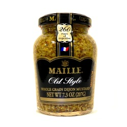 Maille Whole Grain Dijon Mustard 7.3oz | Whole Grain Mustard