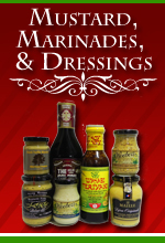 Mustards, Marinades and Dressings