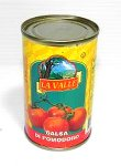 La Valle Tomato Paste Product of Italy Net Wt. 6 oz (170g)