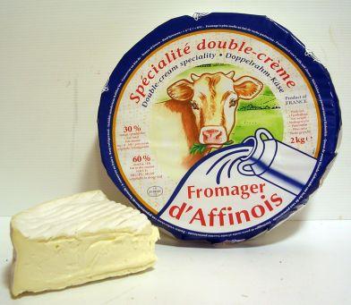 Buche d'affinois cheese